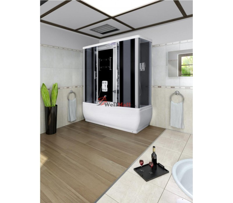 Sprchovací masážny box s veľkou vaňou
