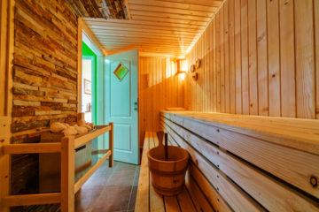 Sauna obnažená donaha