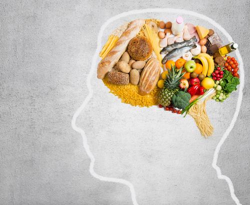 Jedlo a mozog