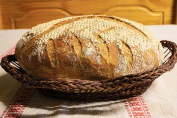 Recept na výborný domáci kváskový ražný chlieb