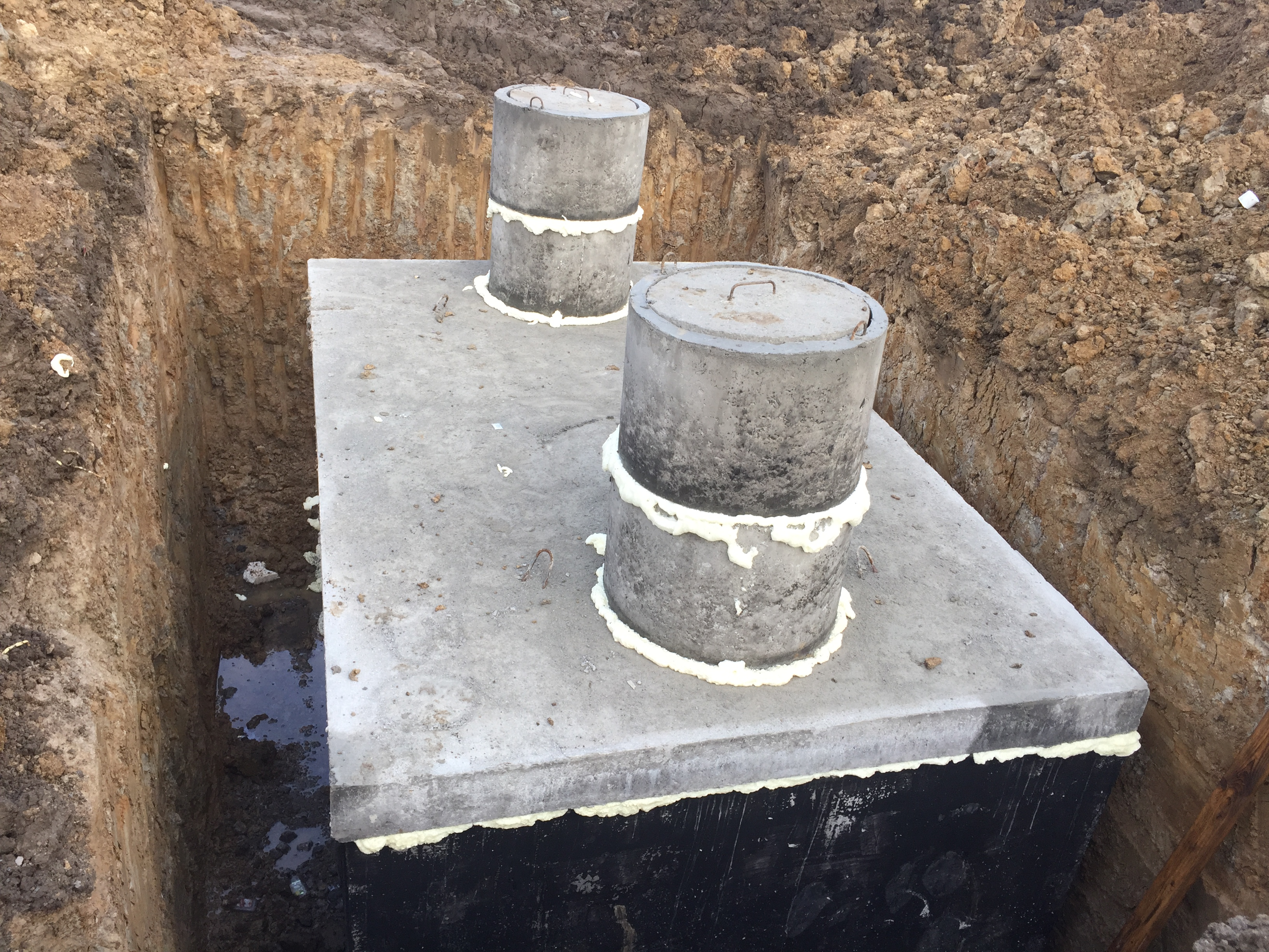 Betónový septik