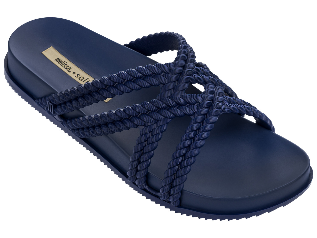 Melissa modré šľapky Cosmic+Salinas Blue